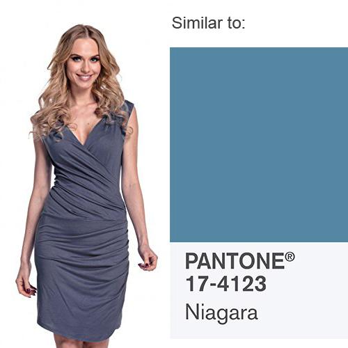 Glamour Empire Asymmetric Drape Dress
