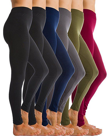 Homma 6-Pack Fleece Lined Thick Leggings
