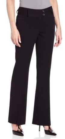 Rafaella Curvy Fit Gabardine Trousers