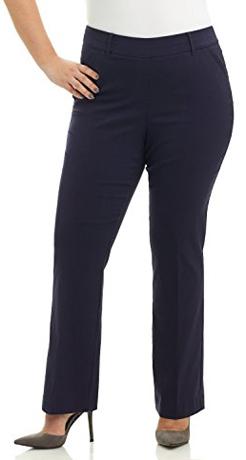 Rekucci Plus Size Bootcut Trousers