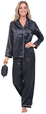 Alexander Del Rossa Satin Pajama