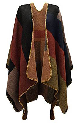 Chaos Theory Outlet Winter Stylished Poncho