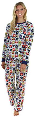 Frankie And Johnny Fleece Pajama Set