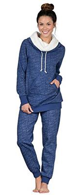 Pajama Gram Shearling Rollneck
