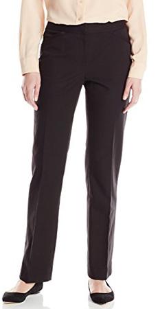 Rafaella Double Weave Curvy Fit Pants