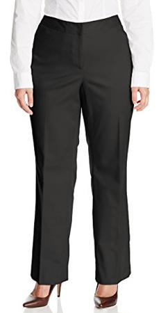 Rafaella Plus Size Straight Leg Pants