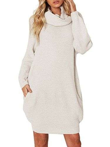 Simplee Apparel Oversized Pullover Dress