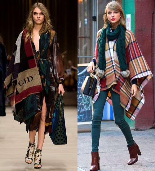 7 Stylish Winter Ponchos and Capes for Women