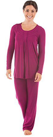 Texere Silk Long Sleeve Pajama Set