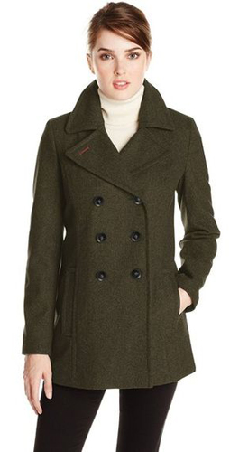 Tommy Hilfiger Double Breasted Classic Peacoat
