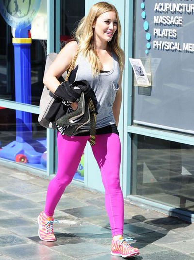 Hilary Duff - Leggings