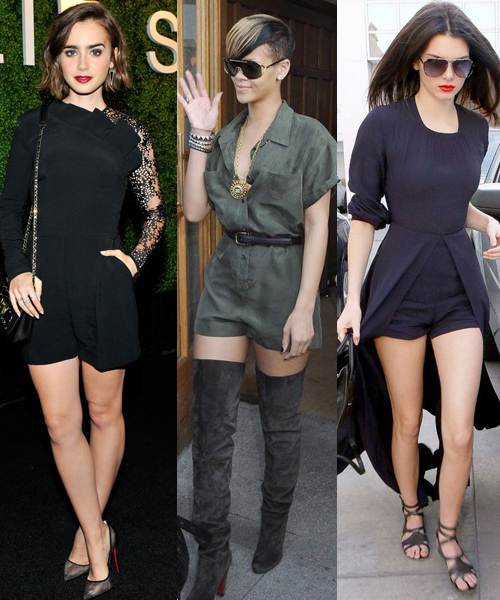Lily Collins, Rihanna, Kendall Jenner: Best Rompers For Women