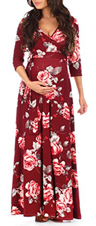 Mother Bee Maternity Long Dress
