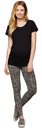 Motherhood Secret Fit Printed Maternity Leggings