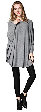 Nellbang Oversized Long Sleeve Pullover