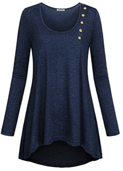 SeSe Code Long Sleeve Tunic Top