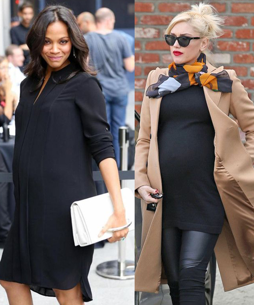 Zoe Saldana and Gwen Stefani: What To Wear During Pregnacy