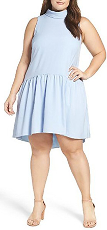 Eliza J Plus Size Drop Waist Dress