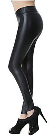 Everbellus Faux Leather Leggings