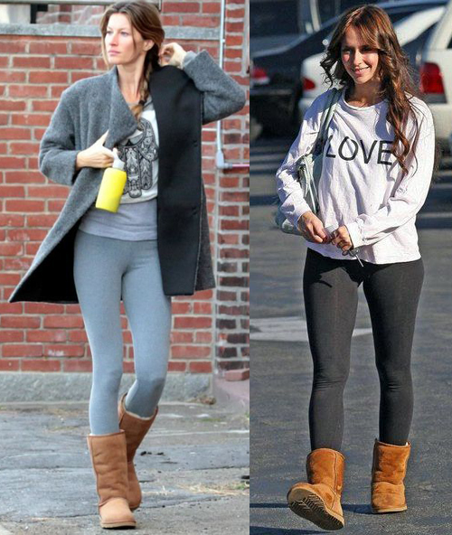 Are UGG Boots Still in Style in 2018? (Gisele Bundchen and Jennifer Love Hewitt)