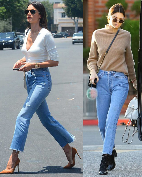 Alternatives to Levi's Jeans (Alessandra Ambrosio and Kendall Jenner)