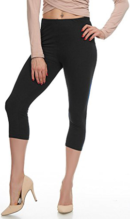LMB Capri Leggings Regular and Plus Size