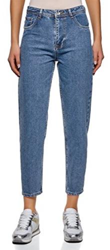 Oodji Ultra Mom-Fit High Rise Jeans