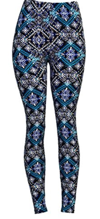 VIV Collection Printed Leggings