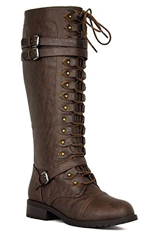 West Coast Lace Up Riding Boots