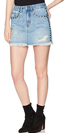 Lily Parker Denim Mini Skirt