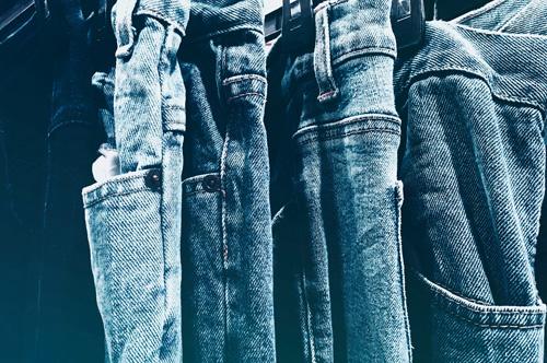 choosing jeans