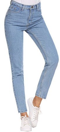 Romanstii Straight-Leg Denim Pants