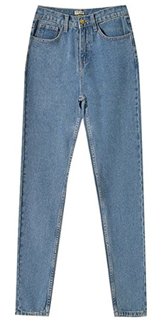 Tengfu Retro High Waisted Jeans