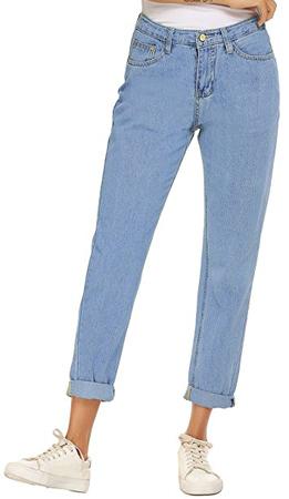 Zhenwei Vintage Straight Leg Mom Jeans