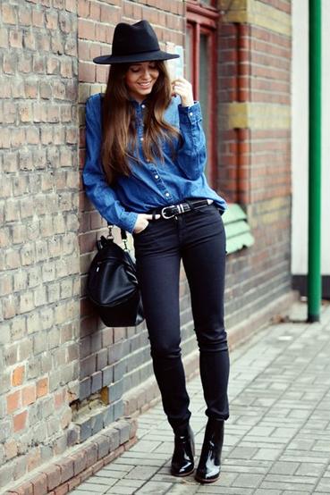 Fashion Blog Jestem Kasia - Kasia Szymkow Wears Lee Jeans