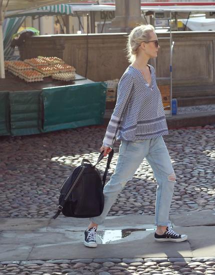 Fashion Blog Kate Glitter - Kate Gelinsky Wears Jeans 501 CT Levis
