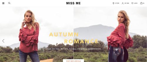 Miss Me Website