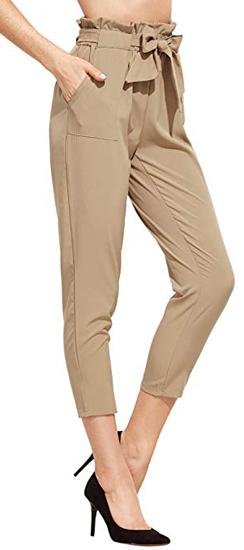 Sweaty Rocks Elastic Belted Pants