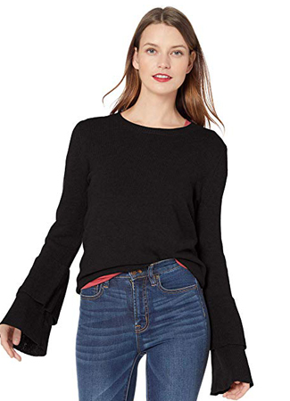 J. Crew Mercantile Bell Sleeve Sweater