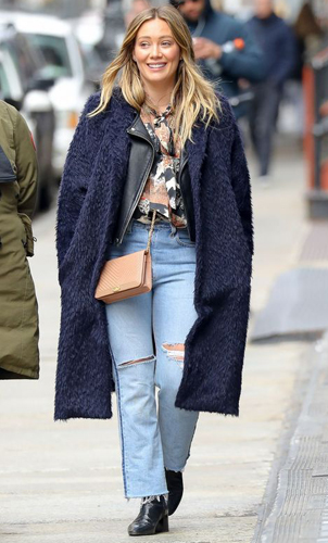 Hilary Duff - The Straight Leg Jeans