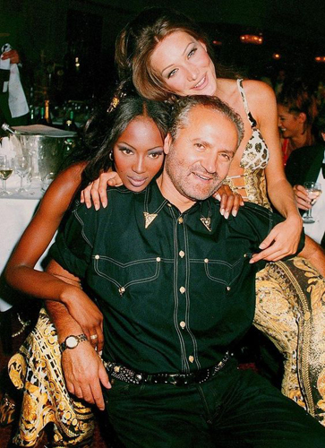 Italian Fashion Style: Gianni Versace