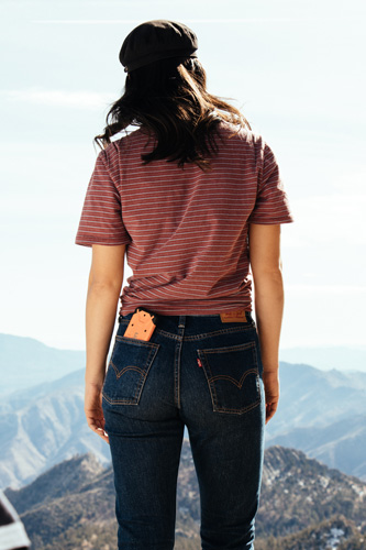 Levi's Jeans - The Brand - (A Girl Wearing a Levi's Jeans)