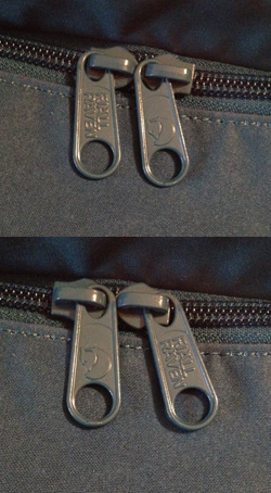 The Double Impression On Zip Pullers Original Kånken