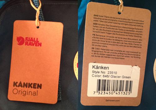 The Information Slip - Original Kånken