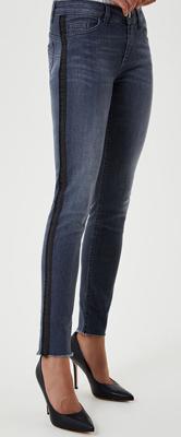 Liu-Jo Eco-Friendly Skinny Jeans With Appliqués