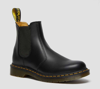 2976 Yellow Stitch Chelsea Dr. Martens Boots