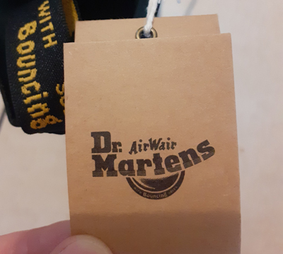 Label 1460 Dr Martens Boots