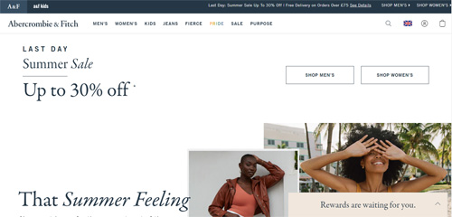 Abercrombie and Fitch - Official Website