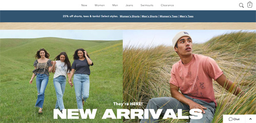 American Eagle (Outfitters) - Official Website